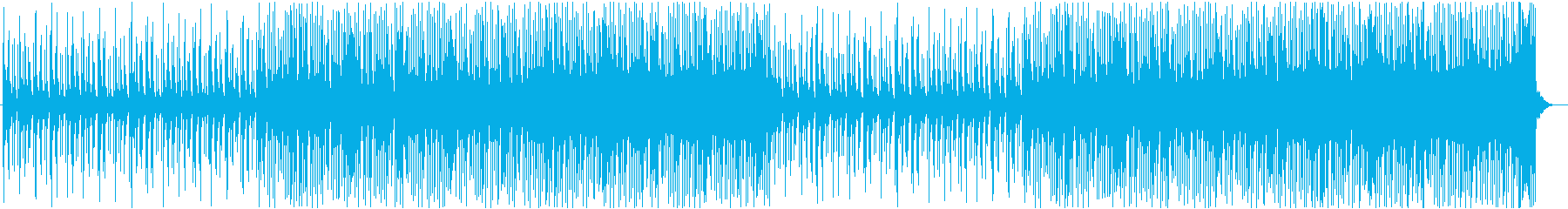 クリスマスが近づいてくるようなCM曲の再生済みの波形