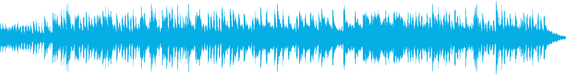 冬に最適な温かいBGMの再生済みの波形