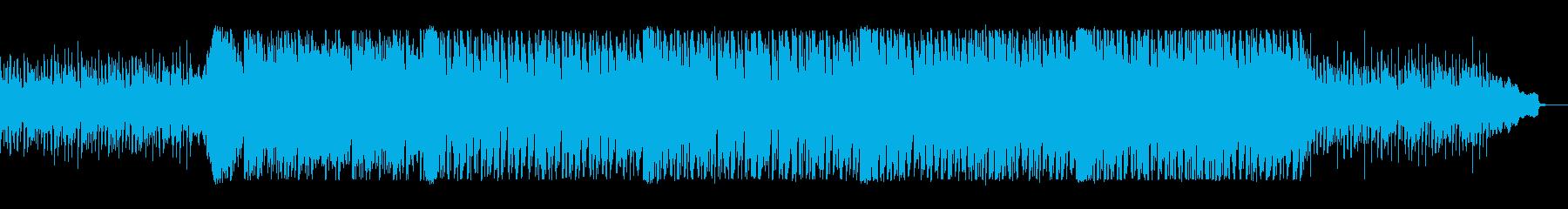 明るく軽やかなリズムとメロディのポップスの再生済みの波形