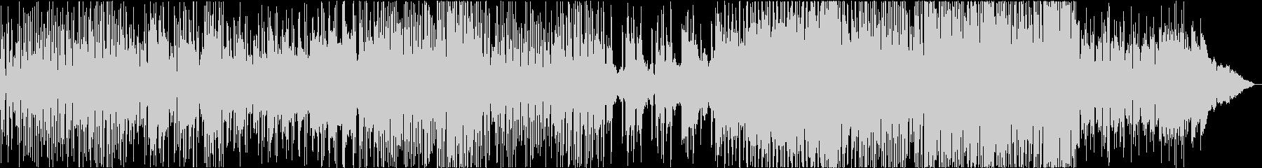 シリアス、華麗なる生演奏アコギの未再生の波形