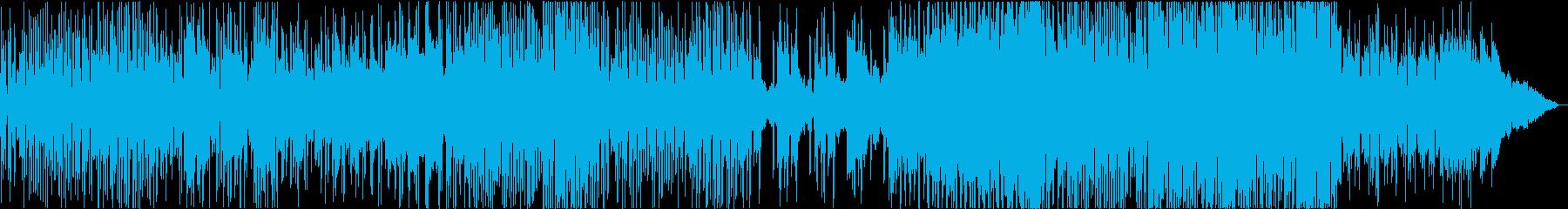 シリアス、華麗なる生演奏アコギの再生済みの波形