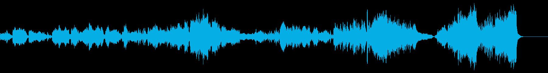 【生演奏】壮大,感動トロンボーンとピアノの再生済みの波形