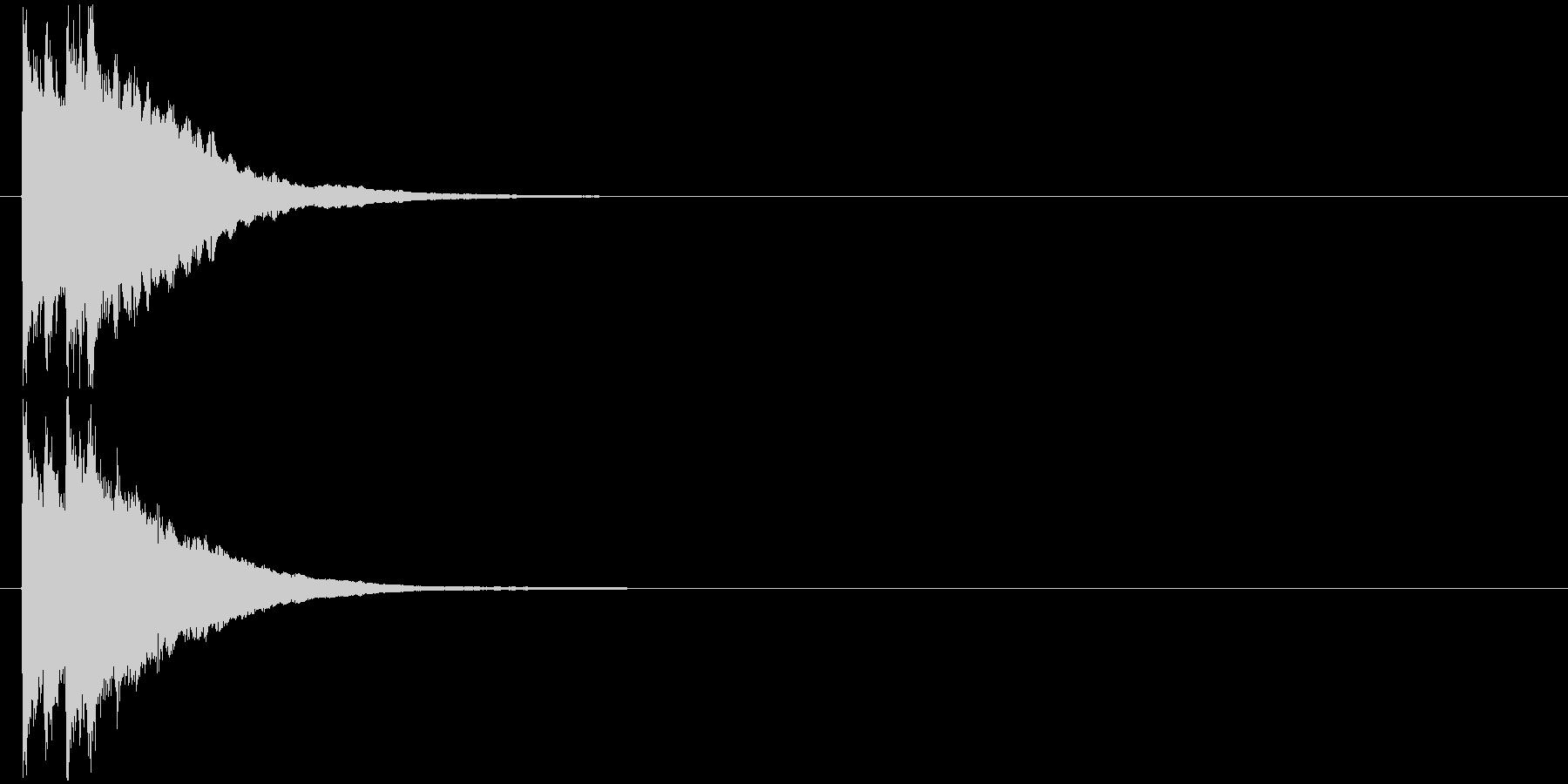 ピポピポーン 正解 お知らせ音の未再生の波形