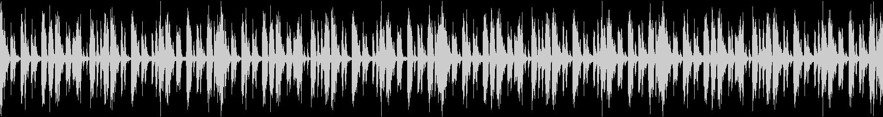 無機質なテクスチャー系ドラムループの未再生の波形