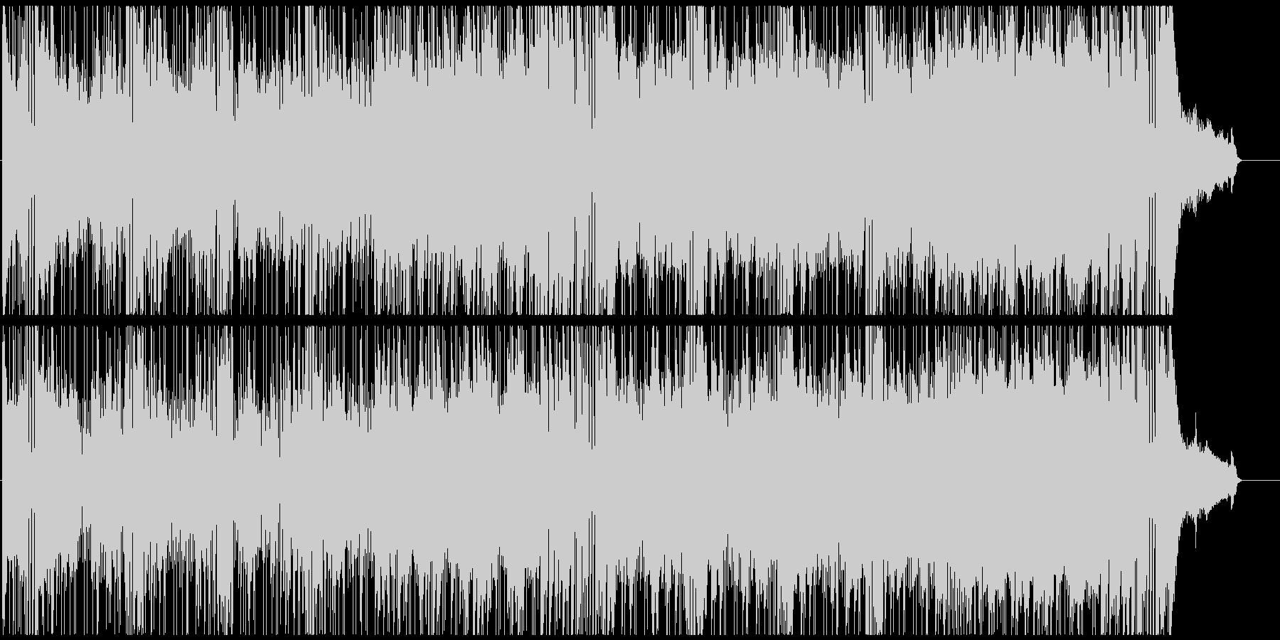 おしゃれなOP スタイリッシュFUNKの未再生の波形