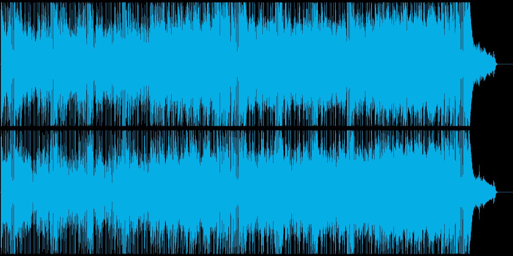 おしゃれなOP スタイリッシュFUNKの再生済みの波形