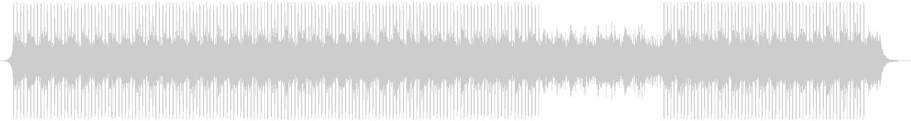 作品の未再生の波形