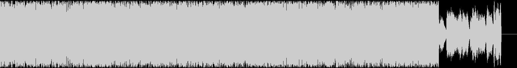 ボーカルチョップが癖になるブチアゲBGMの未再生の波形