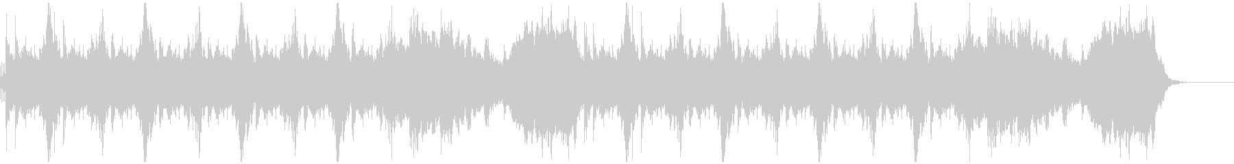 勢いのあるセレクト(選択)画面風サウンドの未再生の波形