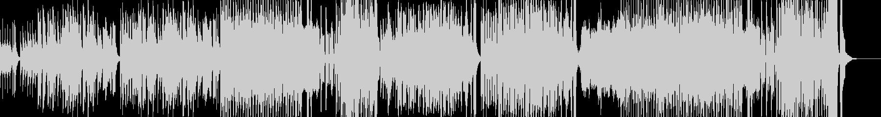 絵本の中に入ったようなレトロなBGMの未再生の波形