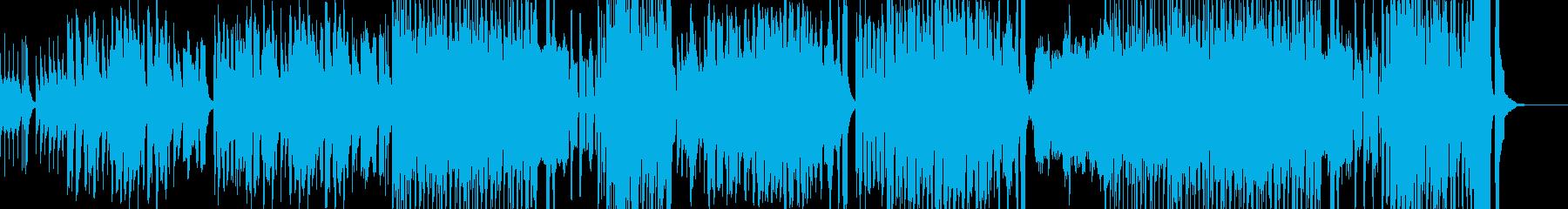 絵本の中に入ったようなレトロなBGMの再生済みの波形