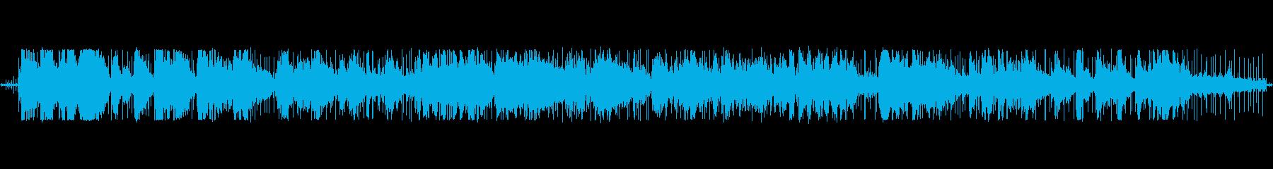 私はこの作品をリールツーリールで書...の再生済みの波形