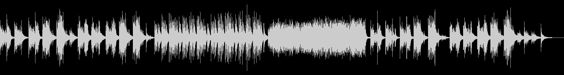 メランコリックなピアノ しっとり 淡々の未再生の波形