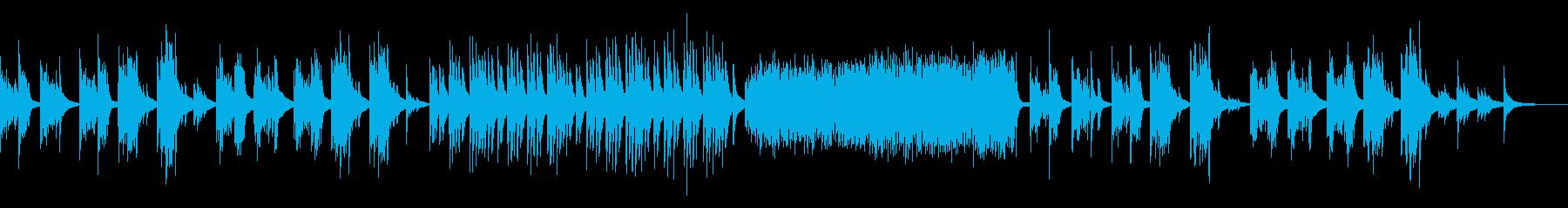 メランコリックなピアノ しっとり 淡々の再生済みの波形