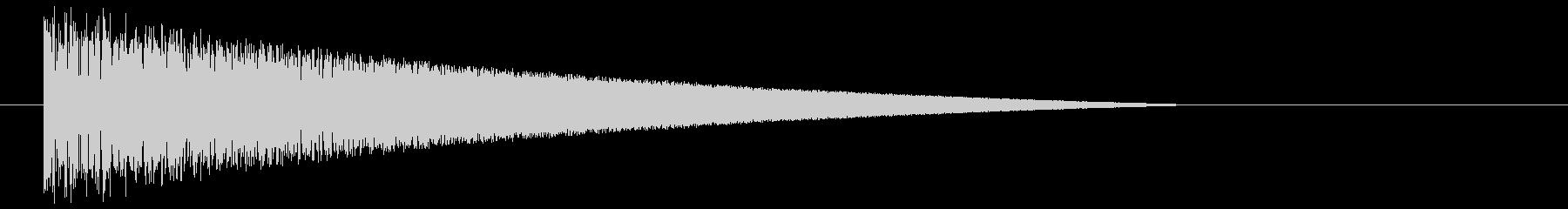 ファミコン風_ブワァ~ン_ロケット発射音の未再生の波形