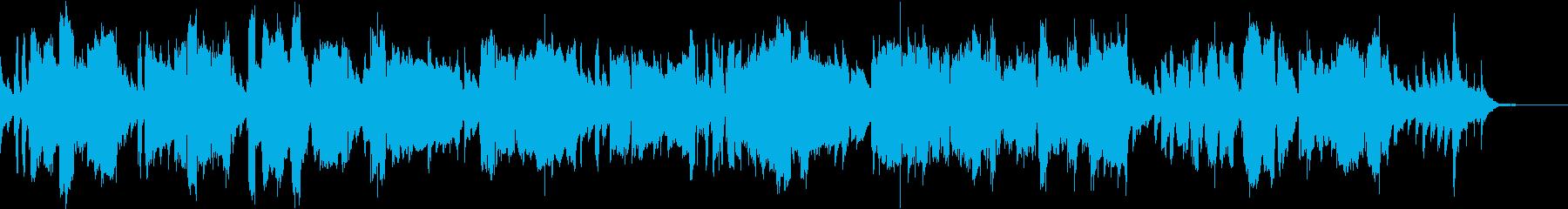 ファゴットが奏でるほのぼのとしたナンバーの再生済みの波形