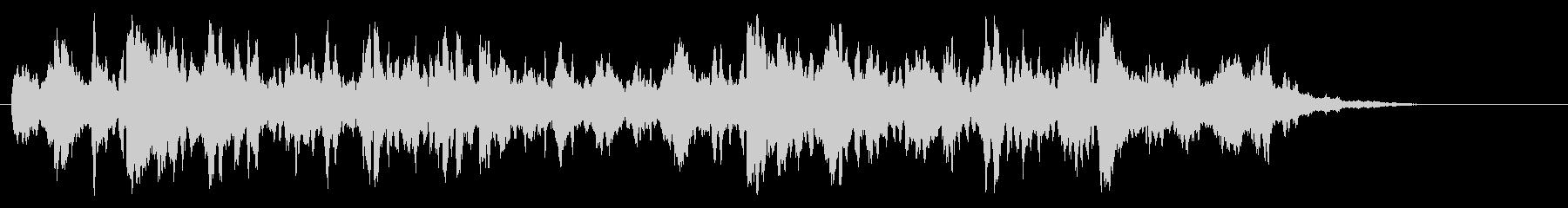 ムーディーなクリーン・ギターAORの未再生の波形