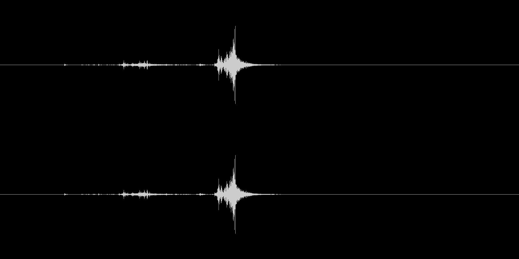 【チラシ01-4(置く)】の未再生の波形