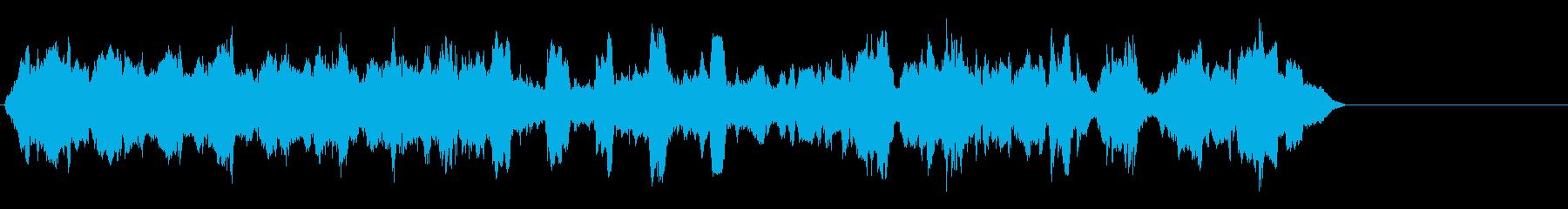 HURDY GURDY:高速、高音...の再生済みの波形