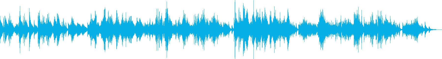 別れ(ピアノソロ・切ない・悲しい・感謝)の再生済みの波形