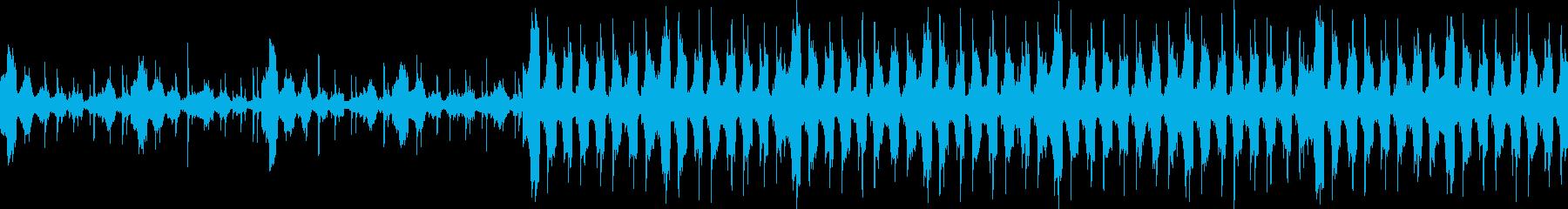 VP、CM、暖かい爽やかな透明感ループcの再生済みの波形