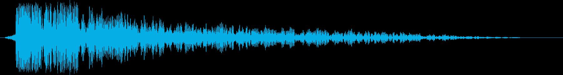 神秘的で広がりのあるサウンドロゴ の再生済みの波形