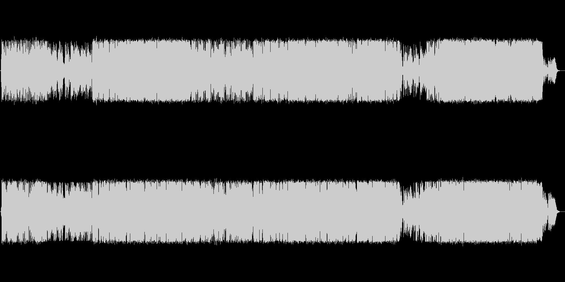 【生演奏】元気づける励ましソングの未再生の波形