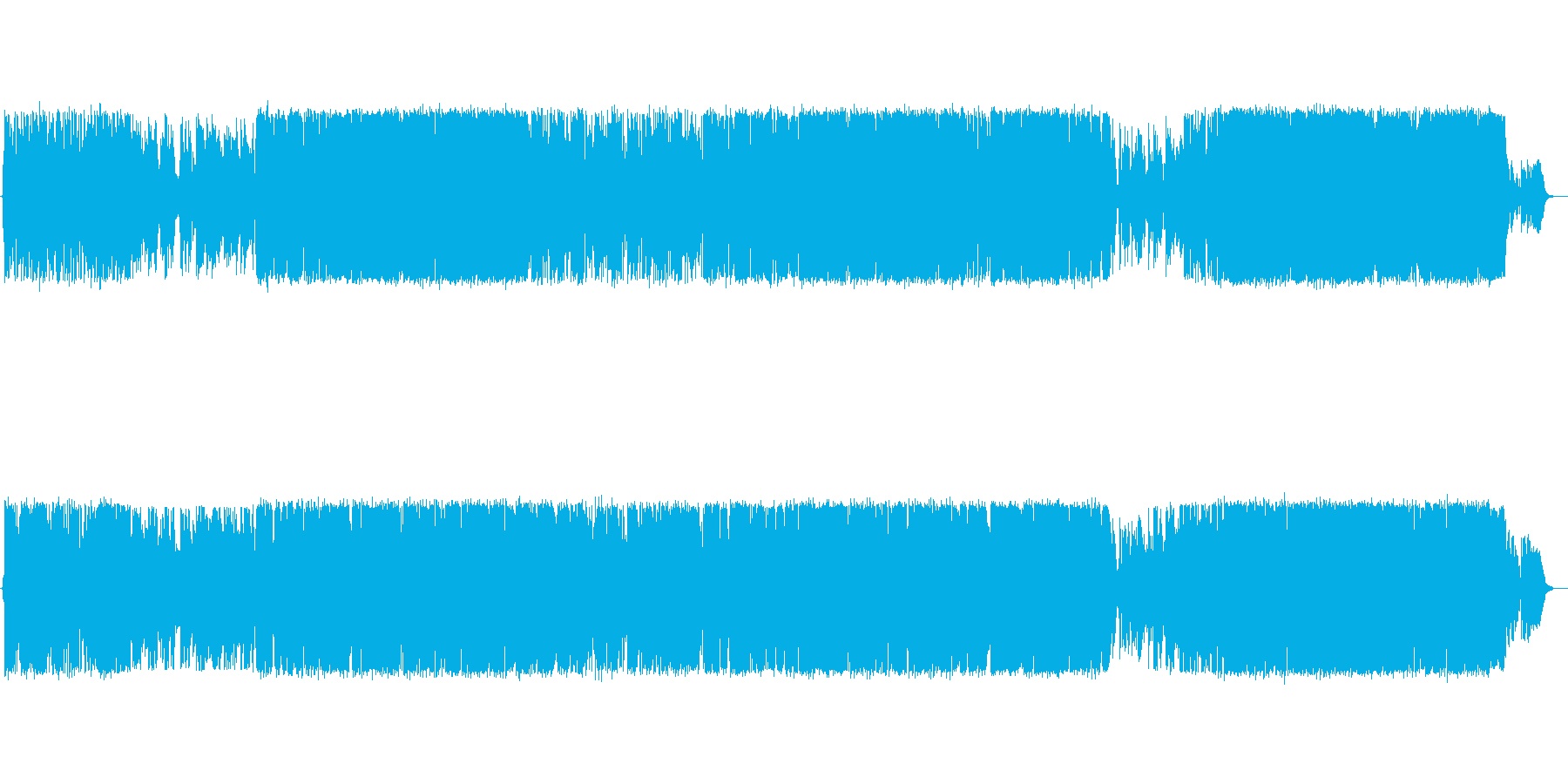 【生演奏】元気づける励ましソングの再生済みの波形