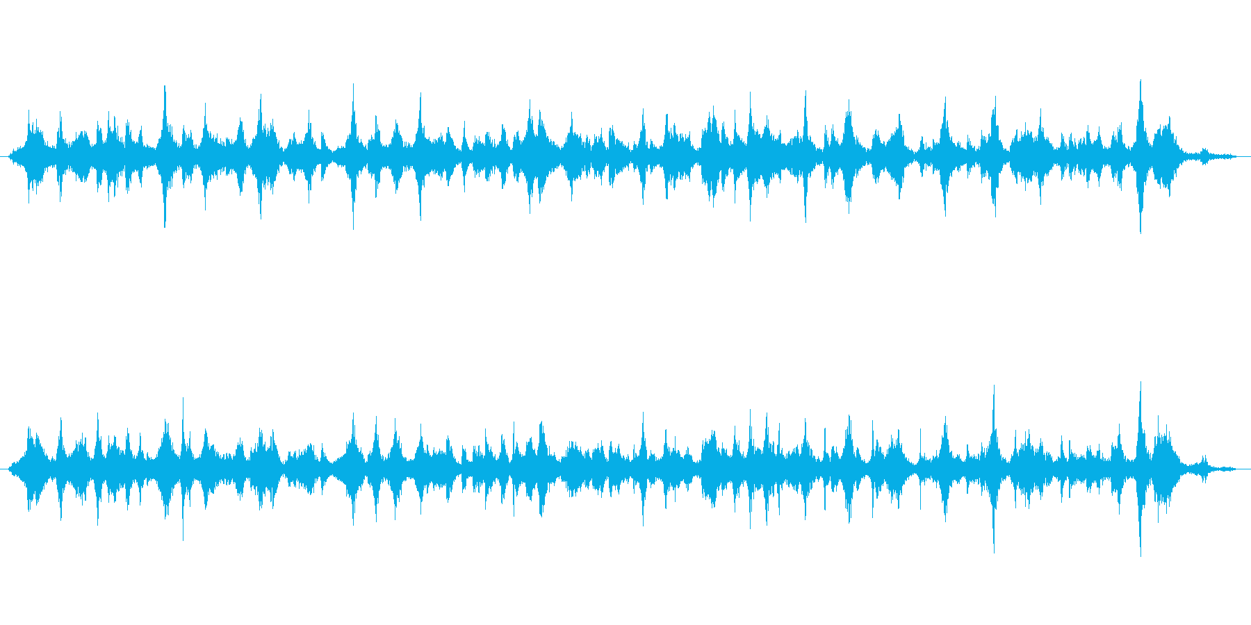 サスペンスaの再生済みの波形