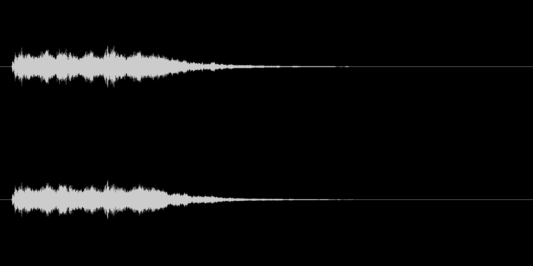 【競技用ゴング02-6】の未再生の波形