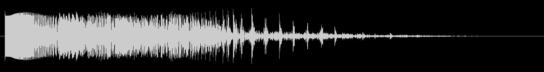 ビッグエレクトロザッパースワイプ1の未再生の波形