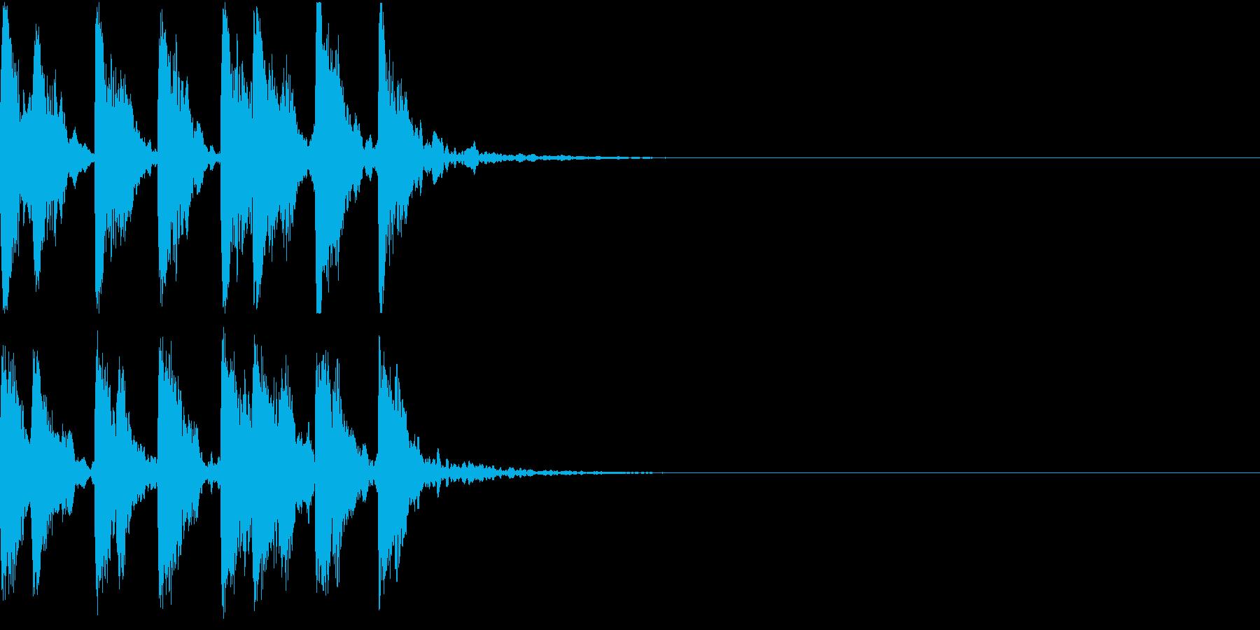 レベルアップ アイテム ゲット 発見 2の再生済みの波形