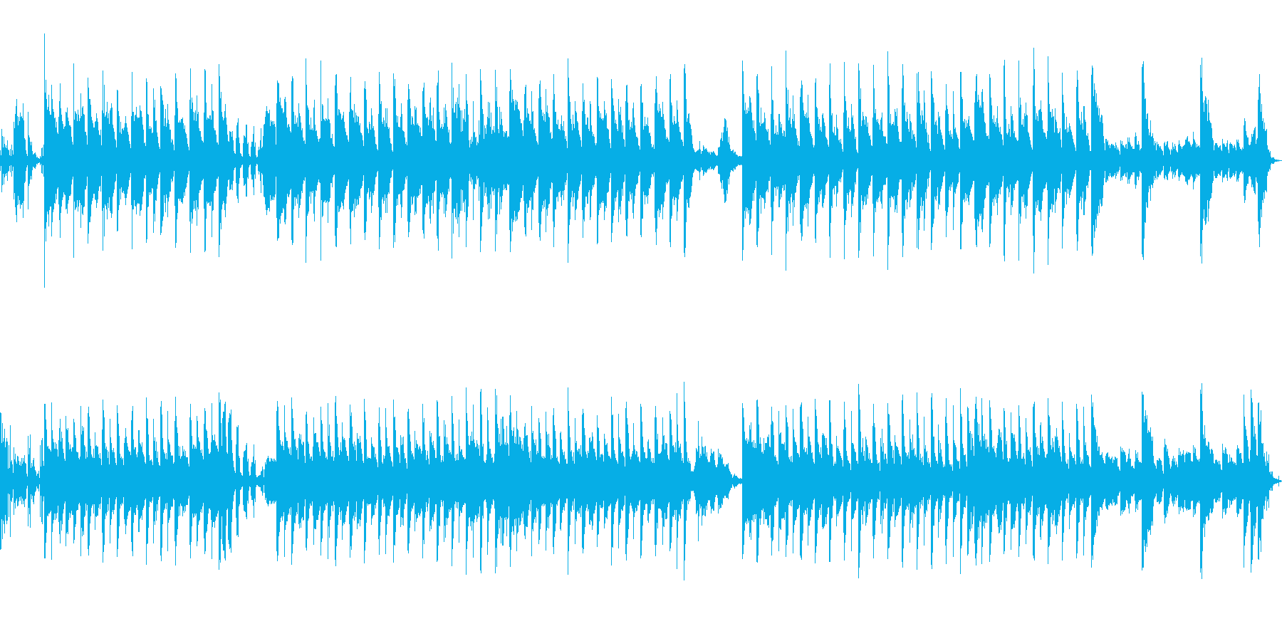 ザニークレイジーアテンションゲッテ...の再生済みの波形
