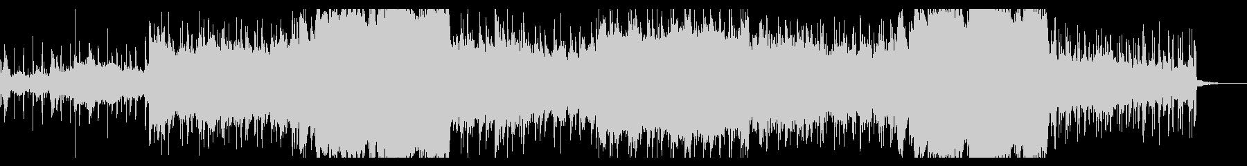 アンダーグラウンドなテクスチャの未再生の波形