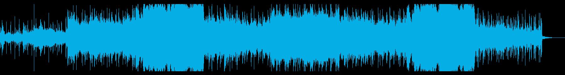 アンダーグラウンドなテクスチャの再生済みの波形