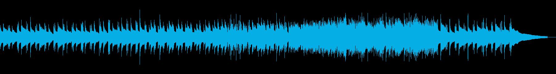 感動的なアコースティックギターソロの再生済みの波形