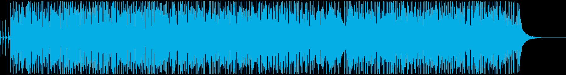 ノリのいいポップな曲ですの再生済みの波形