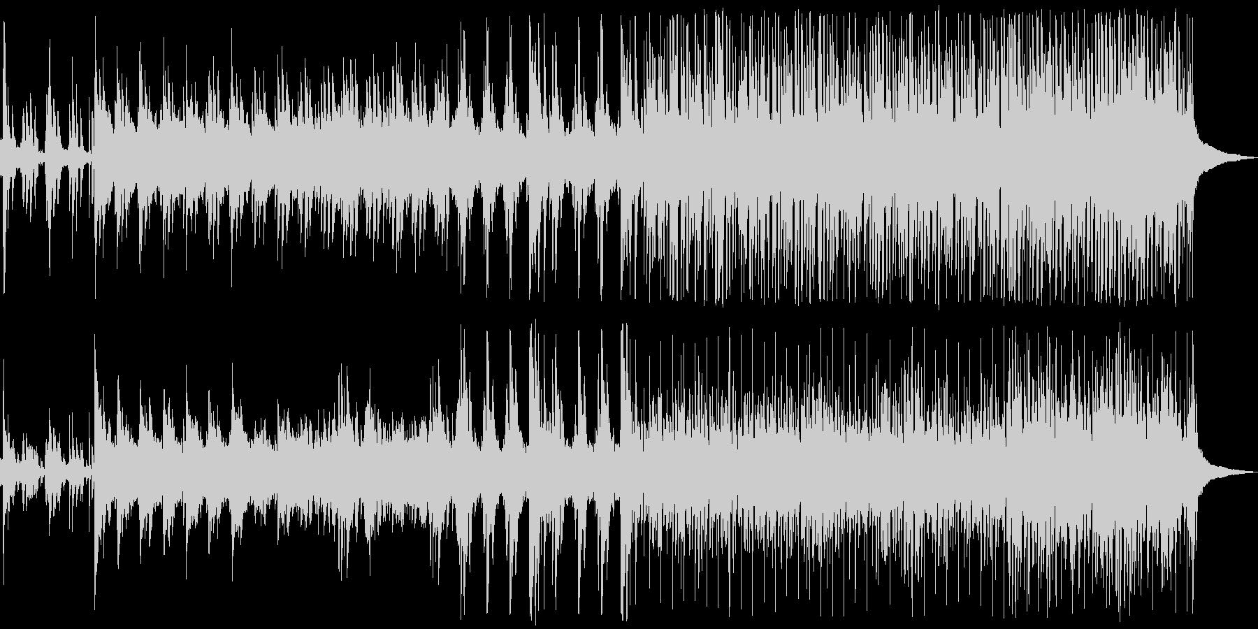 明るく、音響的な、メロディックなト...の未再生の波形