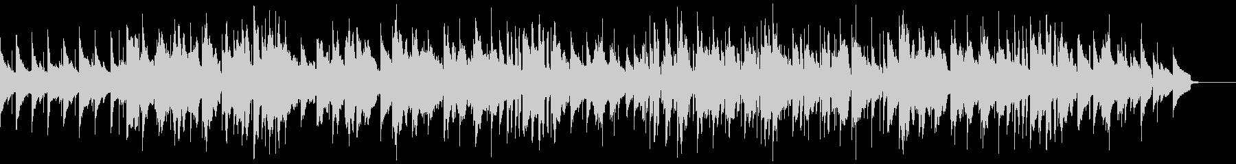 エレクトリックピアノのまどろみのひと時の未再生の波形