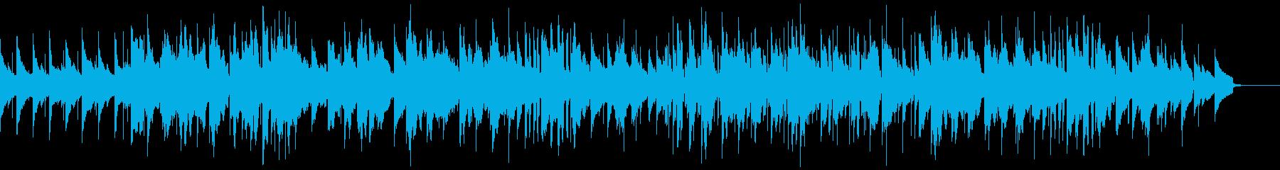 エレクトリックピアノのまどろみのひと時の再生済みの波形