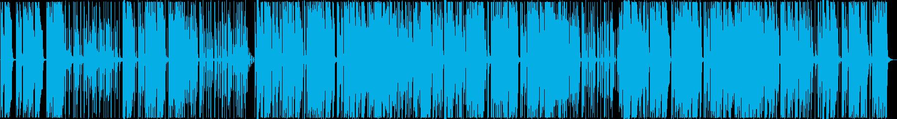 ジャジーなローファイ・チルの再生済みの波形