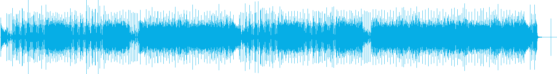 ビートルズやレトロな60年代のロッ...の再生済みの波形