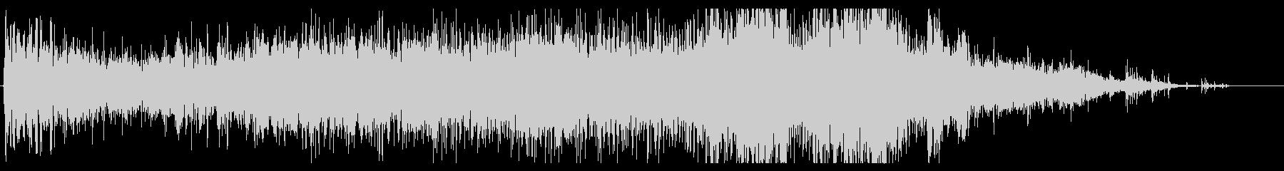 ゴーストスケルトンスペルのアニメートの未再生の波形