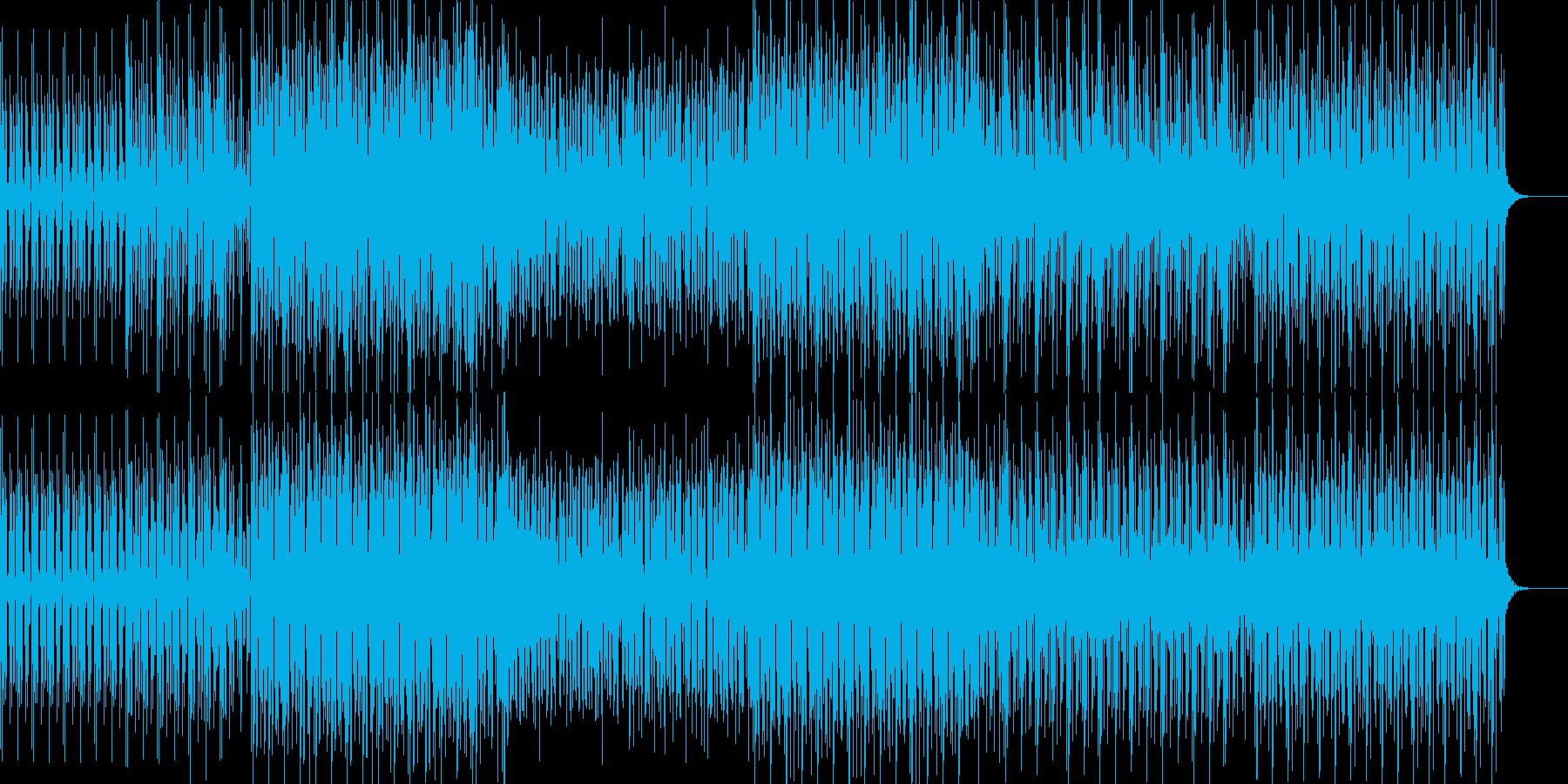 不思議な世界観でかっこいいメロディーの再生済みの波形