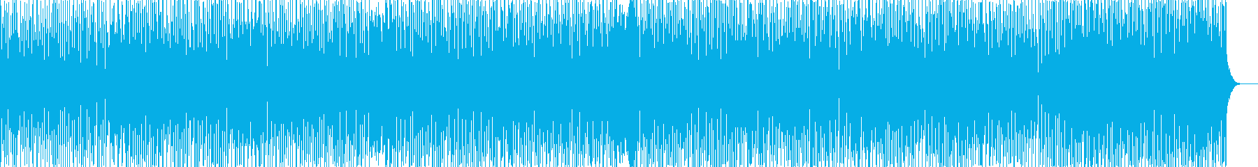 ロシア民族音楽のような楽しい音楽の再生済みの波形