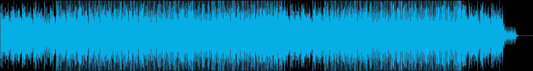 静と動がうまく両立の再生済みの波形