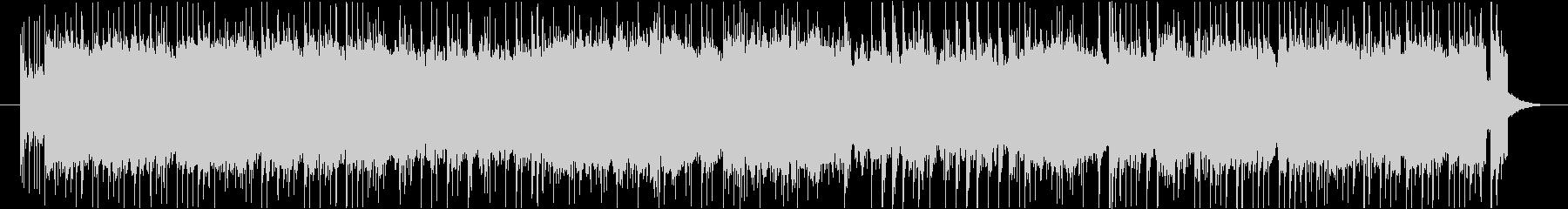 リフ一発×ギターロックの未再生の波形