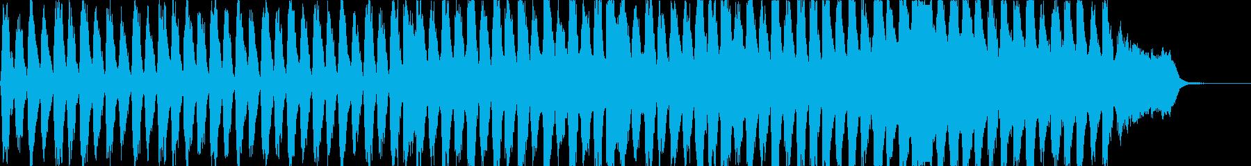 暗く壮大なオーケストラサスペンスの再生済みの波形