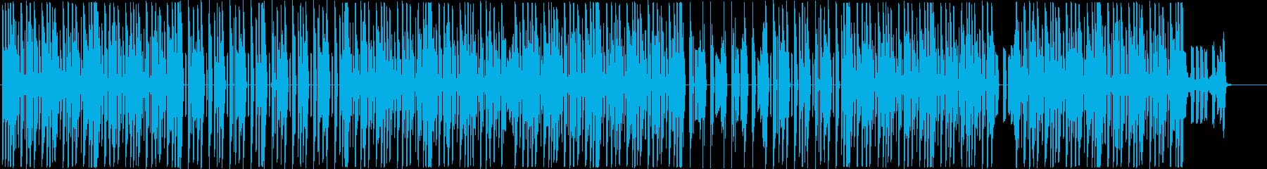 トラップ、ヒップホップ、ダークビート♪の再生済みの波形