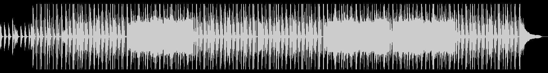 クールでおしゃれなヒップホップの未再生の波形